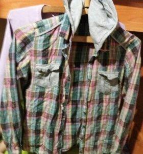 Рубашка модная очень разноцветная