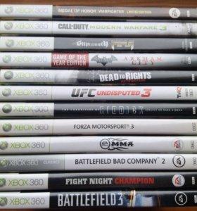 Лицензионные Игры Xbox 360 12штук