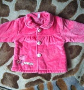 Куртка-пальто (74 см)