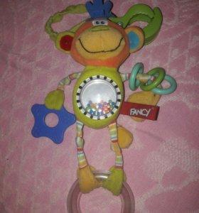 Подвесная игрушка обезьянка