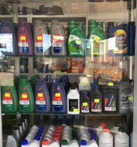 Моторные и трансмиссионные масла в ассортименте