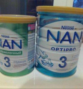 NAN Optipro + кисломолочный