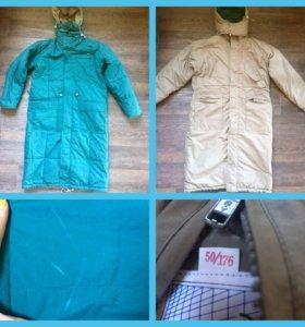 Куртка двухсторонняя, новая. р-р 50/52.
