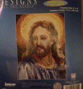 Набор для вышивки Иисус. Новый