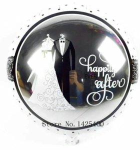 Шары для вашей свадьбы!!!