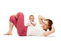 Фитнес мама+малыш фитнес Беби 1-2