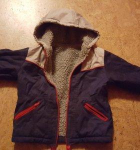 куртка на ребенка 90-110