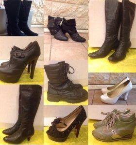 Р.39 сапоги, туфли, ботинки, кроссовки
