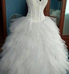 Жемчужное новое платье
