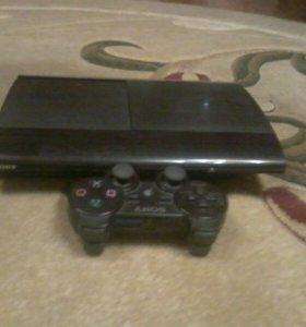 PlayStation 3 Super Slim 500GB + игры