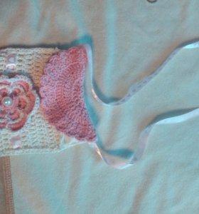 Сумочка вязанная для маленькой модницы