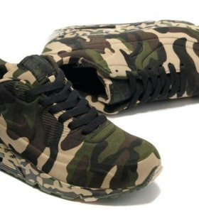 Стильные кроссовки NIKE Air Max 90 VT, military