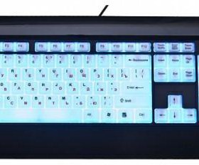 Клавиатура dialog с подсветкой