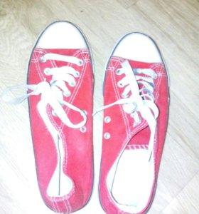 Кеды красные Convers