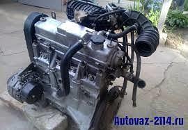 Продам двигатель б/у 1,5 инжектор ваз 2114