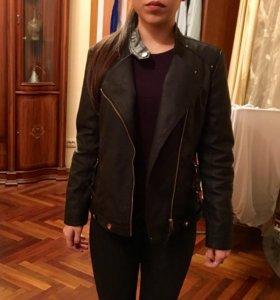 Кожаная куртка- косуха