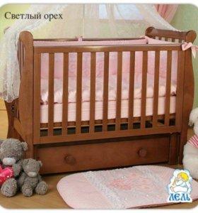 Детская кроватка лель«Кубаньлесстрой»