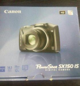 Фотоаппарат canon SX150 IS