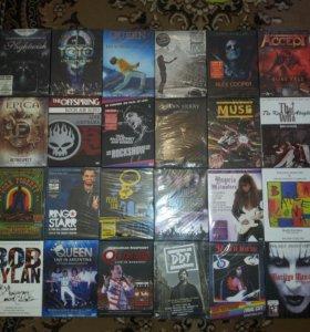 Диски dvd, mp3