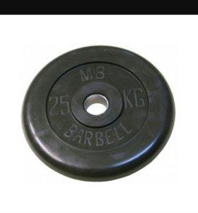 Штанга barbell 50-60кг.