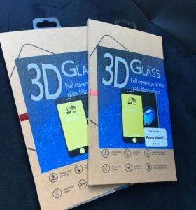 Защитное стекло 3D iPhone 6s/7