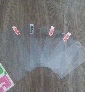 Закаленные защитные стекла для iPhone