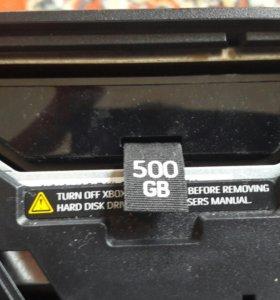 Xbox360 500g прошыт