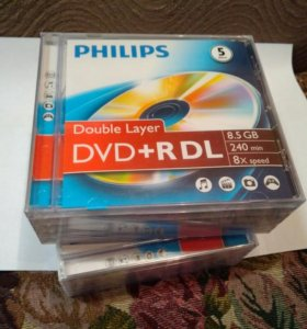 DVD+R DL Double Layer Philips