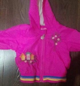 Детская одежда.ветровка для девочки