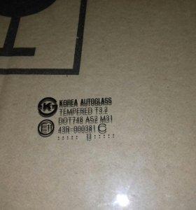 Стекло пассажирской двери Hyundai Solaris
