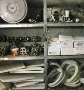 Запчасти на стиральные машины -автомат.