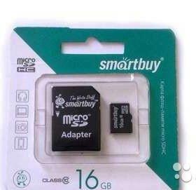 Новые карты памяти micro sd 8 Гб и 16 Гб