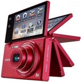 Samsung mv800 сенсорный поворотный компакт.