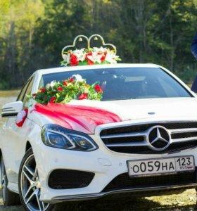 Оформление свадебного авто