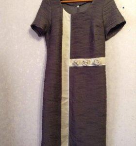 Платье- футляр с болеро, 50 р-р
