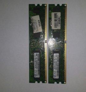 Оперативная память Samsung 1Gb PC-2-6400 -800MHz
