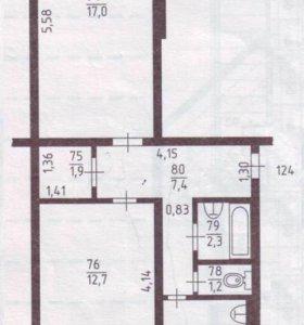 Квартира 2-х комнтатная
