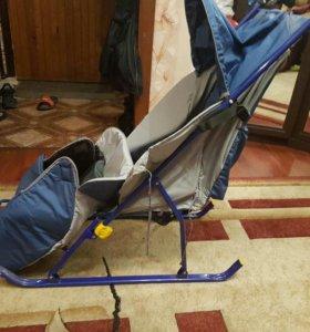 Саночки-коляска  для малышей