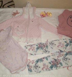 Детские вещи пакетом на девочку 92-98размер
