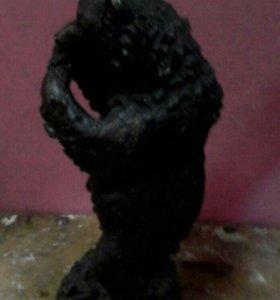 Статуэтка  бронзовая. Медведь