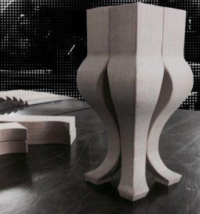 Ножки кабриоль для мебели