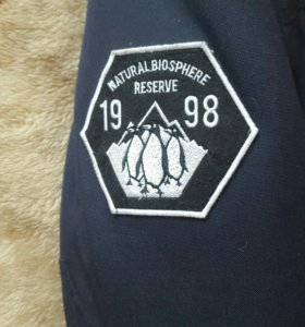 Тёплая куртка Bershka