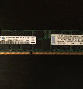 Серверная память 8GB DDR3 Samsung 1066 (ECC Reg.)