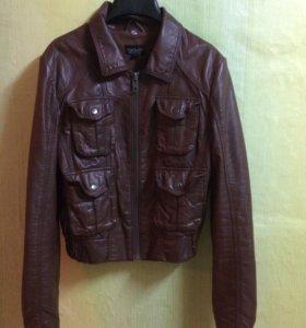 Topshop кожаная куртка