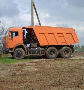 Услуги самосвалов до 15 тонн