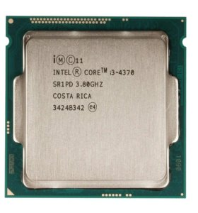 Процессор Intel I3 4370