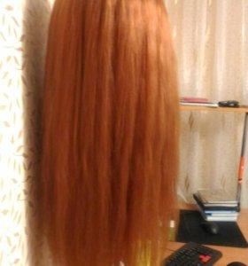 Манекен голова с волосами