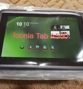 Силиконовый чехол на планшет iconia tab A500