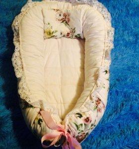 Гнездышко-кокон для малыша