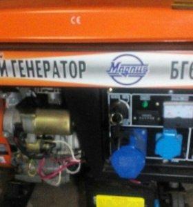 Генератор бензиновый 5,5 кВт